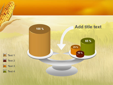 Free Corn Thanksgiving PowerPoint Template Slide 10