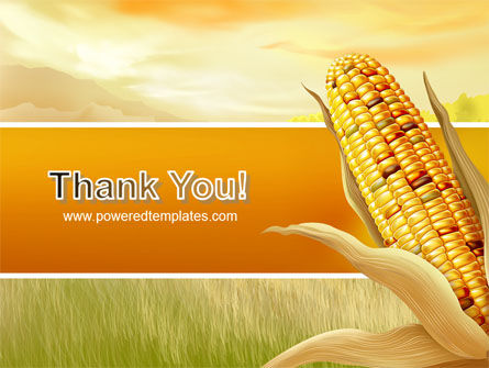 Free Corn Thanksgiving PowerPoint Template Slide 20