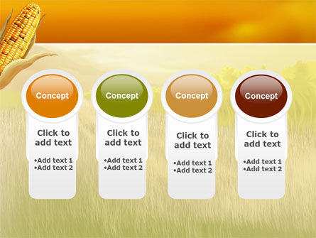 Free Corn Thanksgiving PowerPoint Template Slide 5