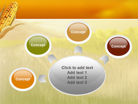 Free Corn Thanksgiving PowerPoint Template Slide 7