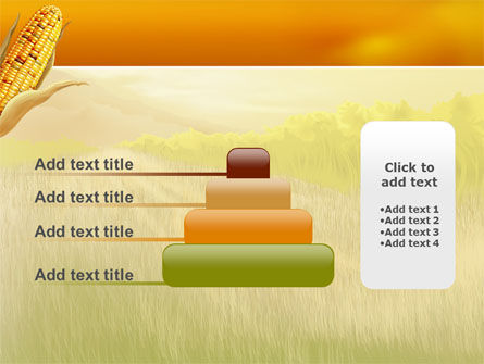 Free Corn Thanksgiving PowerPoint Template Slide 8