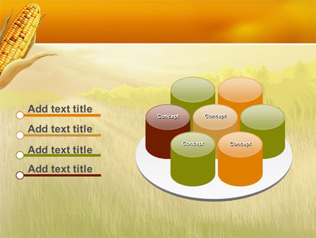 Free Corn Thanksgiving PowerPoint Template Slide 9