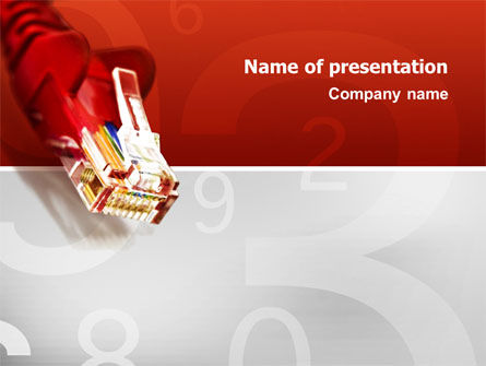 Jumper PowerPoint Template, 02823, Technology and Science — PoweredTemplate.com