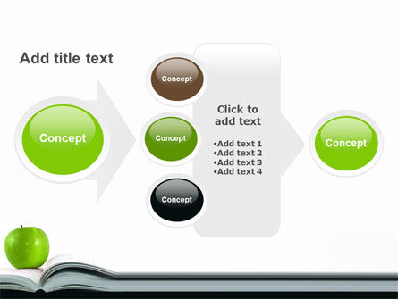 Book And Apple PowerPoint Template Slide 17