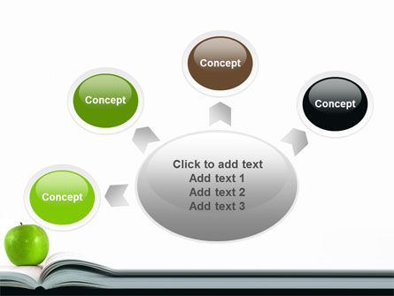 Book And Apple PowerPoint Template Slide 7