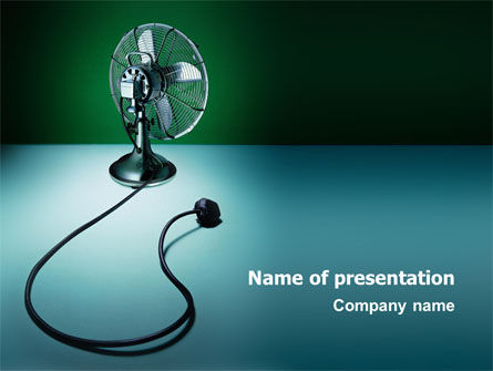 Utilities/Industrial: Ventilator Free PowerPoint Template #02825