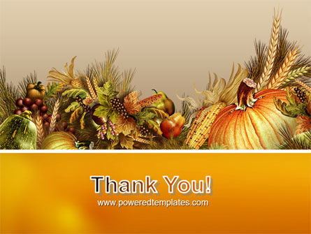 Autumn Harvest PowerPoint Template Slide 20