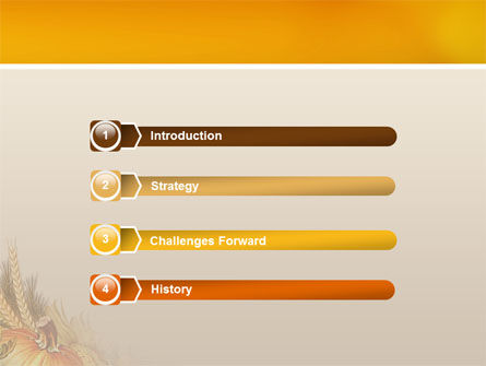 Autumn Harvest PowerPoint Template Slide 3