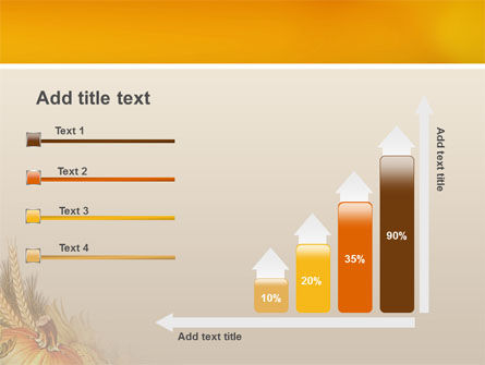 Autumn Harvest PowerPoint Template Slide 8