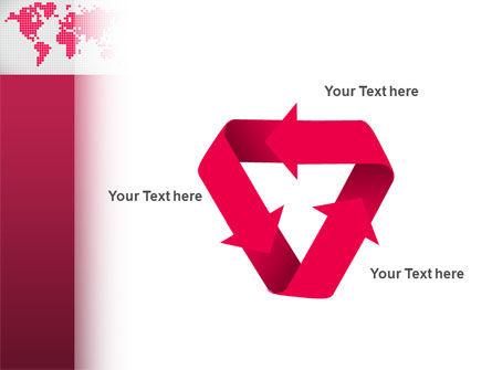 Crimson World PowerPoint Template Slide 10