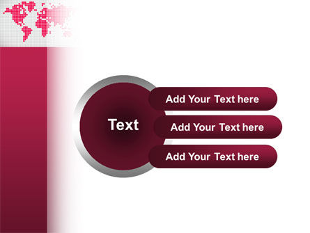 Crimson World PowerPoint Template Slide 12