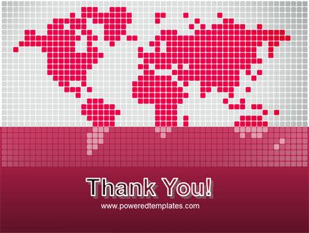 Crimson World PowerPoint Template Slide 20