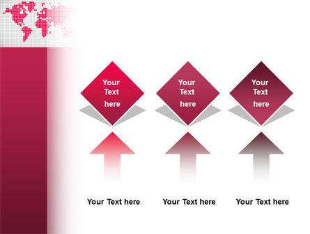 Crimson World PowerPoint Template Slide 5