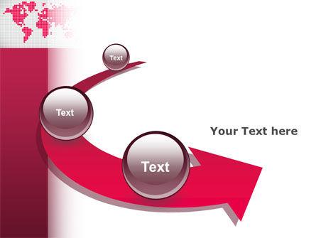 Crimson World PowerPoint Template Slide 6