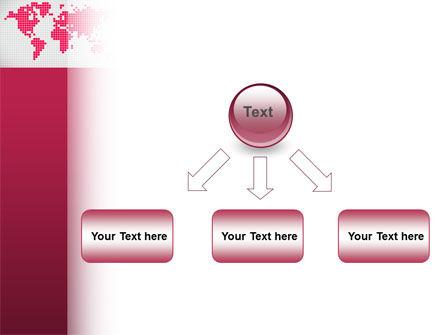 Crimson World PowerPoint Template Slide 8