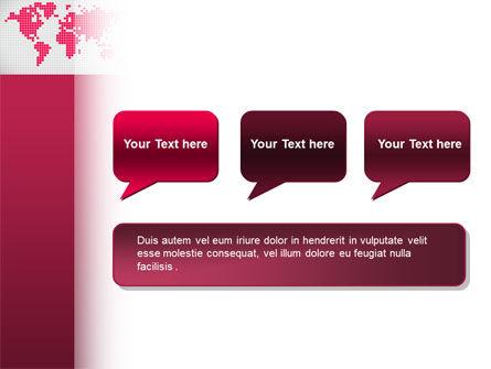 Crimson World PowerPoint Template Slide 9
