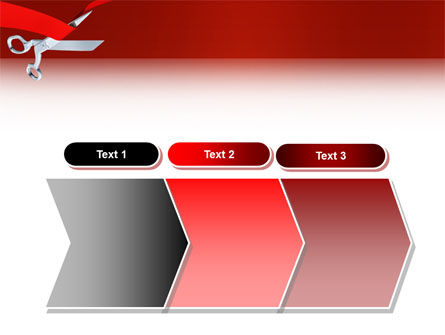 Cutting Red Tape PowerPoint Template Slide 16