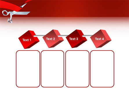 Cutting Red Tape PowerPoint Template Slide 18