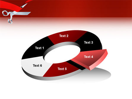 Cutting Red Tape PowerPoint Template Slide 19