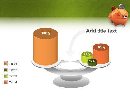 Piggy-bank PowerPoint Template Slide 10
