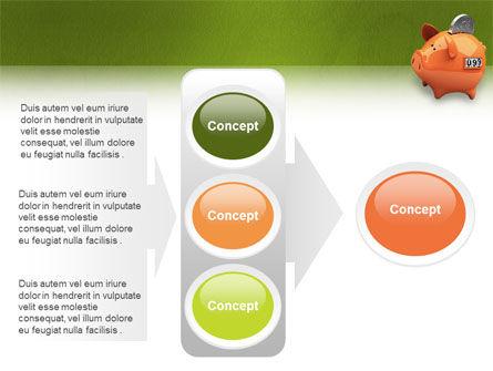 Piggy-bank PowerPoint Template Slide 11