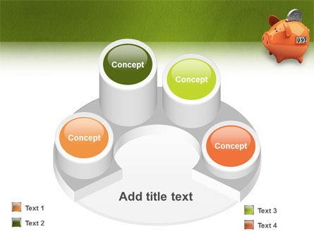 Piggy-bank PowerPoint Template Slide 12