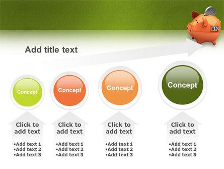 Piggy-bank PowerPoint Template Slide 13
