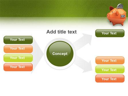 Piggy-bank PowerPoint Template Slide 14