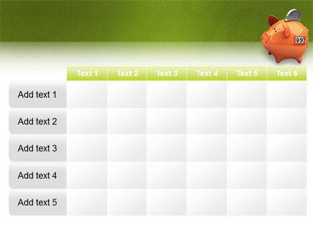 Piggy-bank PowerPoint Template Slide 15