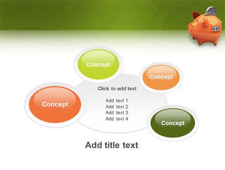 Piggy-bank PowerPoint Template Slide 16