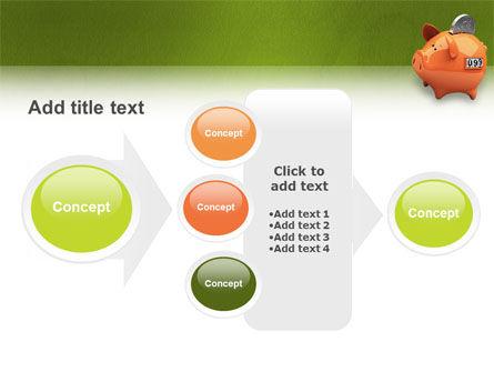 Piggy-bank PowerPoint Template Slide 17