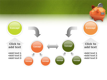 Piggy-bank PowerPoint Template Slide 19