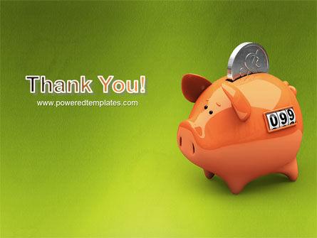 Piggy-bank PowerPoint Template Slide 20