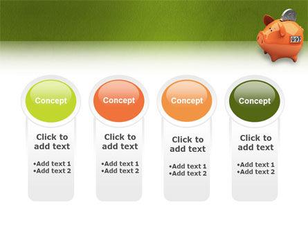 Piggy-bank PowerPoint Template Slide 5