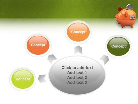 Piggy-bank PowerPoint Template Slide 7