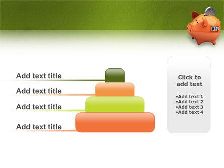 Piggy-bank PowerPoint Template Slide 8