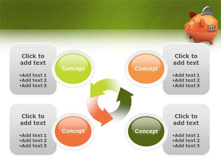 Piggy-bank PowerPoint Template Slide 9