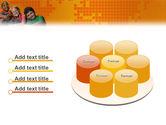 Kids On the Orange World Background PowerPoint Template#12