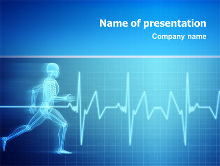 Medical: Pulse PowerPoint Template #02839