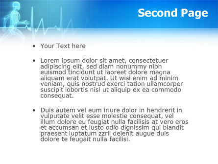 Pulse PowerPoint Template, Slide 2, 02839, Medical — PoweredTemplate.com