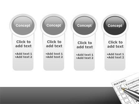 Rating PowerPoint Template Slide 5