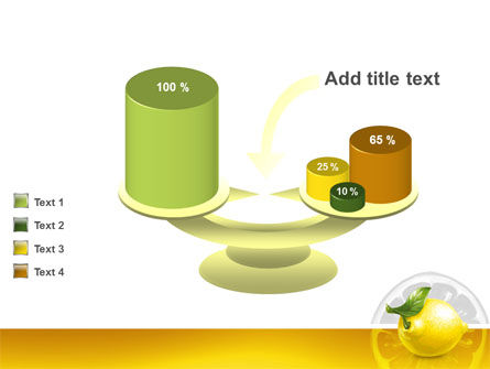 Yellow Lemon PowerPoint Template Slide 10