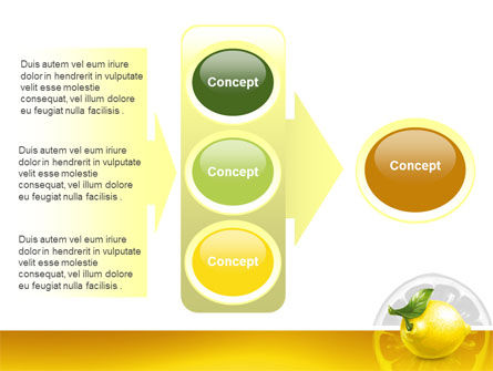 Yellow Lemon PowerPoint Template Slide 11