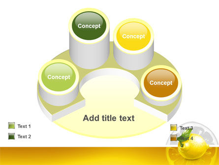 Yellow Lemon PowerPoint Template Slide 12