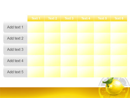 Yellow Lemon PowerPoint Template Slide 15