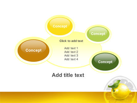 Yellow Lemon PowerPoint Template Slide 16