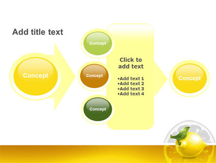 Yellow Lemon PowerPoint Template Slide 17