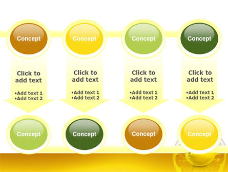 Yellow Lemon PowerPoint Template Slide 18