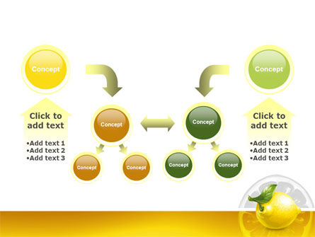 Yellow Lemon PowerPoint Template Slide 19