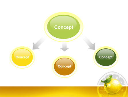 Yellow Lemon PowerPoint Template Slide 4